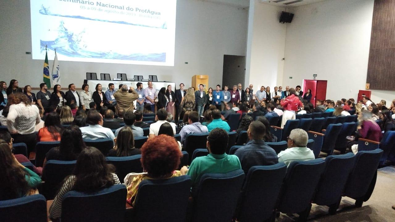 Turma pioneira do ProfÁgua na UFCG participa do III Seminário Nacional do ProfÁgua em Brasília