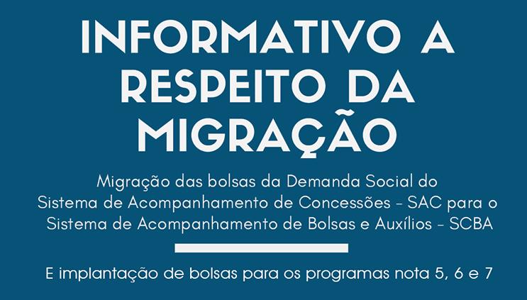 Capes divulga orientações sobre migração das bolsas da Demanda Social do SAC para o SCBA