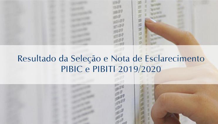 PRPG divulga resultado da seleção de projetos PIBIC e PIBITI após bloqueio da cota de bolsas do CNPq
