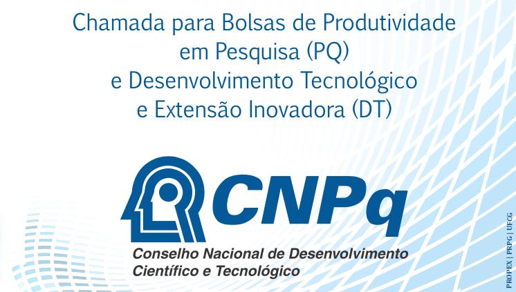CNPq lança chamadas para bolsas de Produtividade PQ e DT